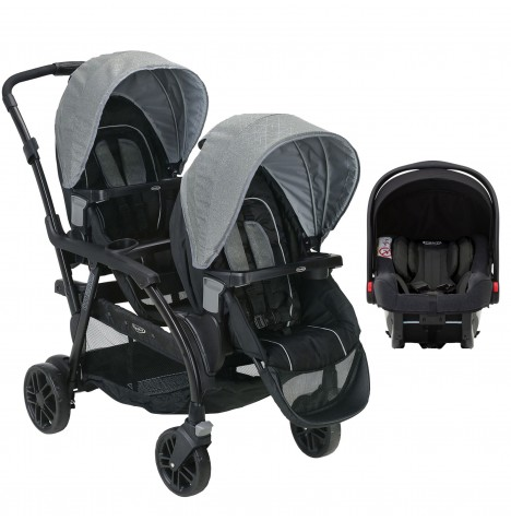 Graco Modes Duo Tandem Double Pram Travel System (Snugride iSize)